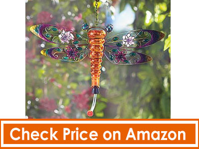 Butterfly-Shaped-Metal-and-Glass-Hummingbird-Feeder